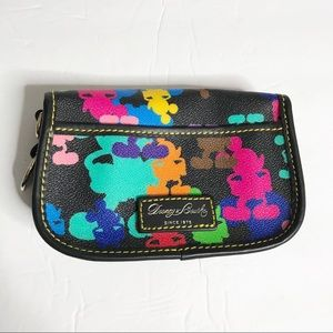 Dooney & Bourke Disney Mickey Mouse rainbow wallet